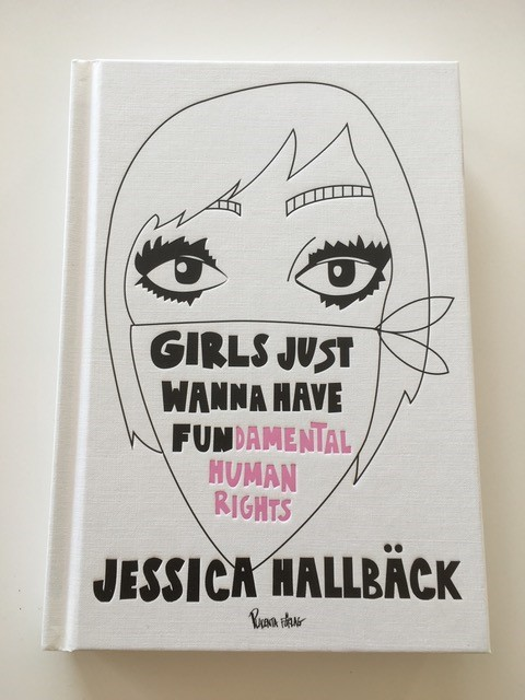 """Omslaget till boken """"Girls just want to have fun-damental rights"""""""