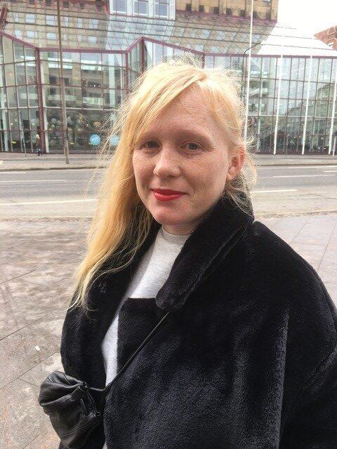 Jessica på plats i Malmö